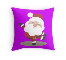 Santa Claus 2016 Merry Christmas Throw Pillow