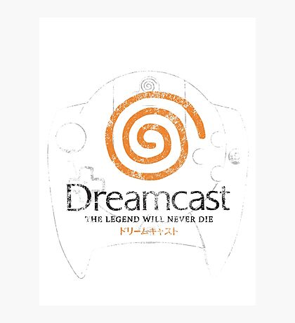 Dreamcast Legend Photographic Print