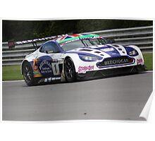 Howard and Adam - Beechdean Aston Martin Poster