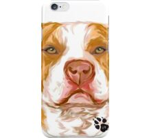 Pit Bull Red iPhone Case/Skin