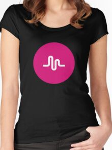 Musically Women's Fitted Scoop T-Shirt