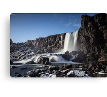 'Thingvellir' national park  Canvas Print