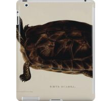 Tortoises terrapins and turtles drawn from life by James de Carle Sowerby and Edward Lear 029 iPad Case/Skin