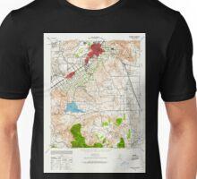 USGS TOPO Map California CA Riverside 298784 1942 62500 geo Unisex T-Shirt