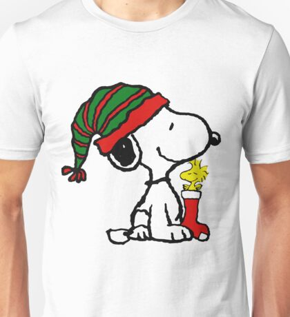 SNOOPY CHRISTMAS 13 Unisex T-Shirt