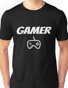 Gamer Funny Video Gaming Geek Unisex T-Shirt