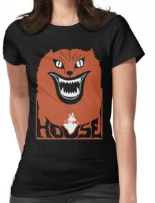 Hausu Black Edition Womens Fitted T-Shirt