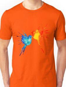 splatter birds Unisex T-Shirt
