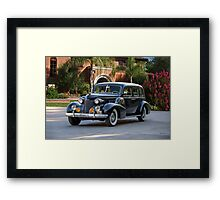 1939 Cadillac Fleetwood 7519 Sedan 'Godfather' Framed Print