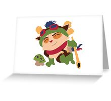 teemo vector Greeting Card
