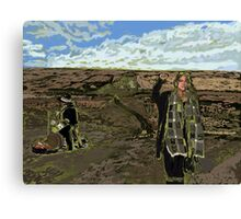 Stand with Standing Rock Canvas Print