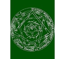 Key of Solomon Photographic Print