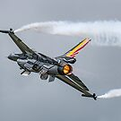 Belgian air component F-16, Fairford, England by Cliff Williams