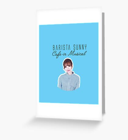 SNSD Sunny Greeting Card