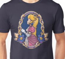 Stained-Glass Peach Unisex T-Shirt
