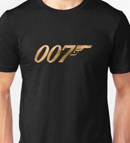 james bond logo Unisex T-Shirt