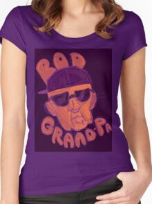 Rad Grand-pa Women's Fitted Scoop T-Shirt