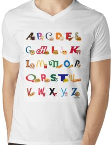 Fast Food Alphabet T-Shirt