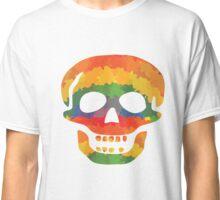 Farbiger Totenkopf Classic T-Shirt