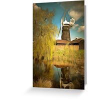 Wray Common Windmill Reigate Greeting Card