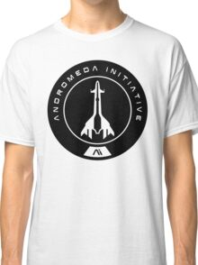 Andromeda Initiative - Black Logo Classic T-Shirt
