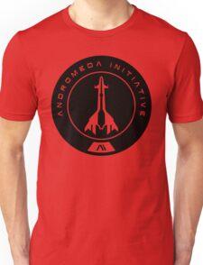 Andromeda Initiative - Black Logo Unisex T-Shirt