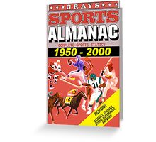 BTTF: Sports Almanac Greeting Card