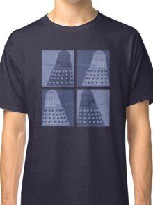 Daleks in negatives - blue Classic T-Shirt