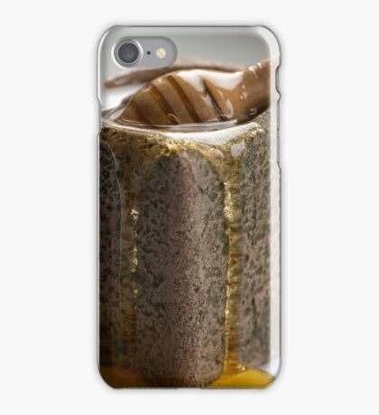 Honey in stone jar  iPhone Case/Skin