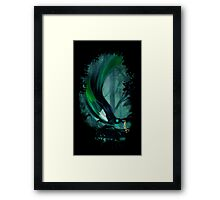 thieving magpie Framed Print