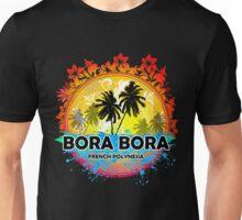 Bora Bora Sunset Style Unisex T-Shirt