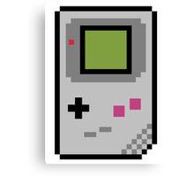 8 bit gameboy Canvas Print