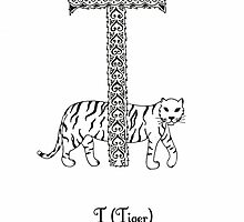 T is for Tiger by Cat-Igrun