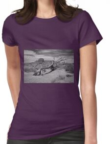 Gnarled Beauty In the Valley Womens Fitted T-Shirt