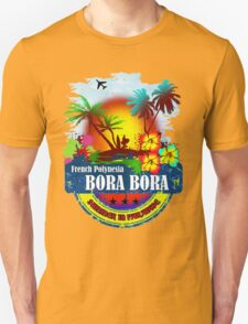 Bora Bora Summer Beach Unisex T-Shirt