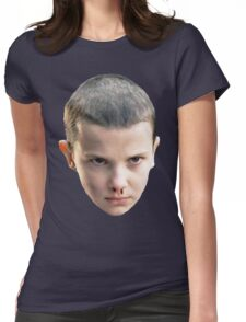 Eleven from Stranger Things Womens Fitted T-Shirt