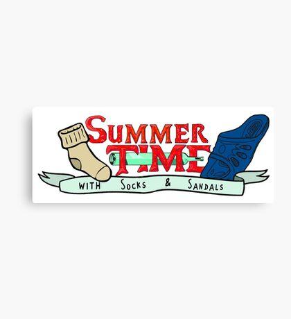 Summer Time - Adventure time parody  Canvas Print