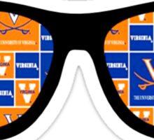 UVA Sunglasses Sticker