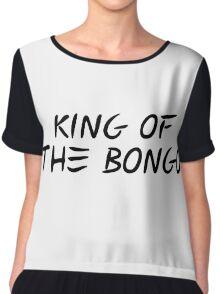 king of the bongo manu chao reggae t shirts Chiffon Top