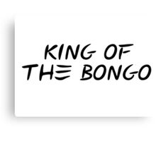 king of the bongo manu chao reggae t shirts Canvas Print