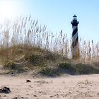 Cape Hatteras Lighthouse of NC by Sandy Woolard