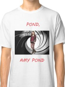 Pond, Amy Pond Classic T-Shirt