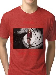 Pond, Amy Pond Tri-blend T-Shirt
