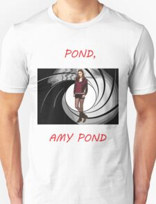 Pond, Amy Pond Unisex T-Shirt