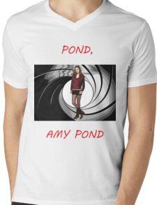 Pond, Amy Pond Mens V-Neck T-Shirt