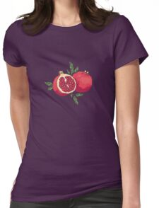 Pair of pomegranates Womens Fitted T-Shirt