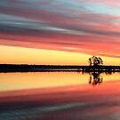 Sunrise on Tomahawk Lake - Minocqua, Wisconsin by Lynne Prestebak