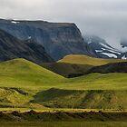 Behind Hotel katia, nr Vik, Iceland by Cliff Williams