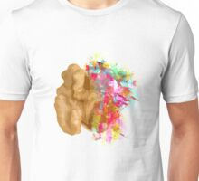 I create - The right side of the brain Unisex T-Shirt