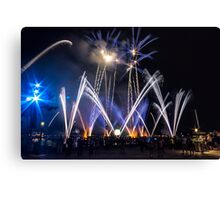Illuminations at Epcot Canvas Print